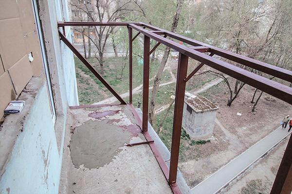 Сделай сам своими руками крыша балкон.