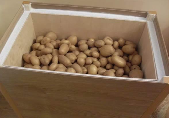 Как сделать ящики для картофеля