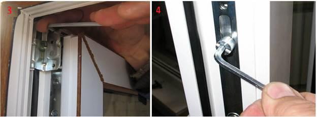 Как отремонтировать пластиковую дверь своими руками
