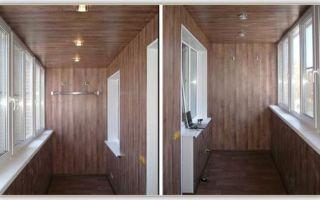 Как выполнить отделку балкона МДФ панелями