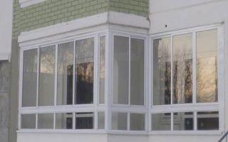 Застекление балконов в домах серии П 44