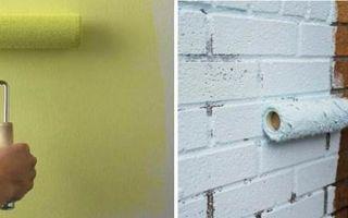 Покраска стен балкона и лоджии из разных материалов – выбор краски и рекомендации