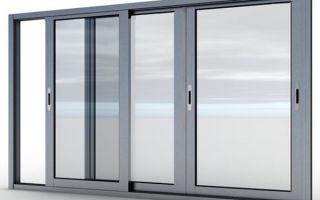 Использование алюминиевых раздвижных окон на балконе