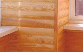 Отделка лоджии или балкона блок хаусом: инструкция и полезные советы