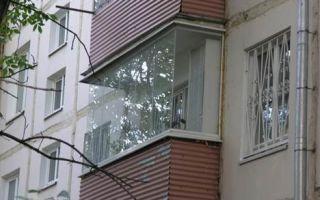 Особенности остекления балконов в хрущевках