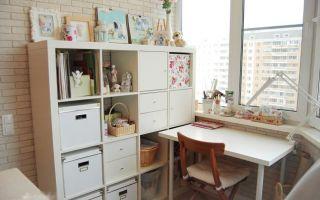 Обустройство на балконе личного кабинета – это просто