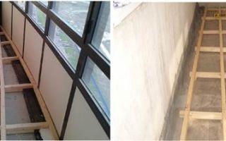 Как самостоятельно поднять пол на балконе и лоджии – основные методы