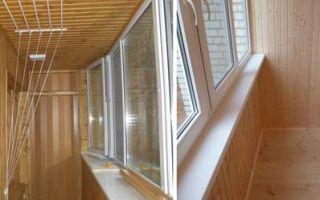 Обшивка балкона и лоджии евровагонкой своими руками