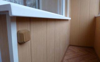 Как выполнить обшивку балкона пластиковыми панелями