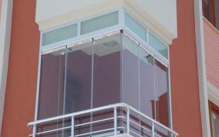 Виды и способы остекления балконов