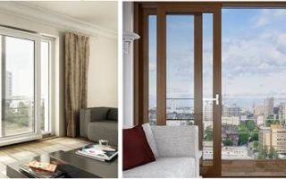 Раздвижные двери на современный балкон – конструктивные и эксплуатационные особенности