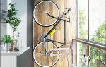 Как хранить велосипед на лоджии или балконе