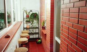 Внутренняя отделка балкона и лоджии