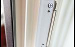 Варианты защелок и фиксаторов для балконной двери из ПВХ