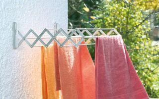 Разнообразие видов сушилок белья на балкон