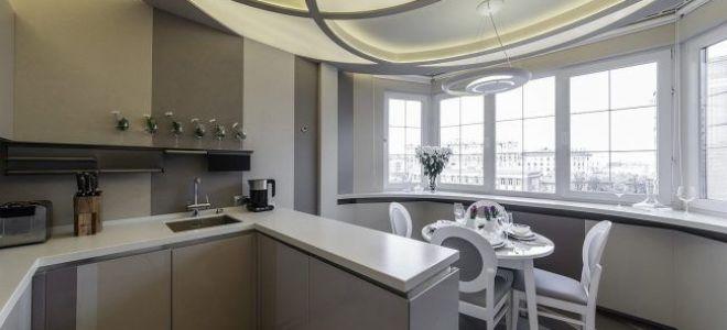Как сделать кухню на лоджии или балконе