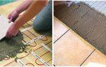 Монтируем электрический тёплый пол на балконе или лоджии под плитку