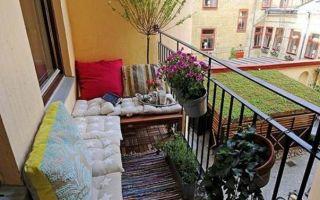 Разные идеи дизайна для балконов и лоджий