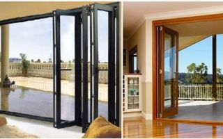 Разновидности раздвижных балконных дверей и их особенности