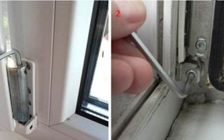 Ремонт и регулировка распашных пластиковых дверей балкона