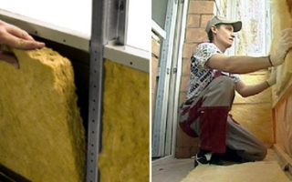 Чем лучше утеплить лоджию и балкон – минватой или пенопластом