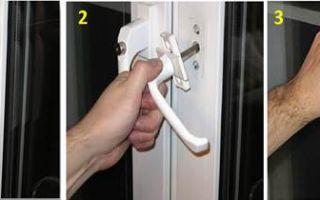 Ремонт и регулировка пластиковой балконной двери