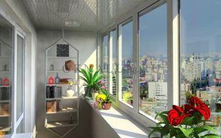 Использование раздвижных окон для остекления балкона