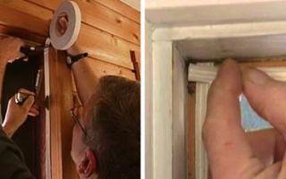 Как самому утеплить пластиковую балконную дверь
