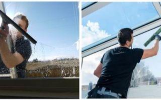 Как безопасно и правильно помыть пластиковые окна на балконе снаружи на высоком этаже