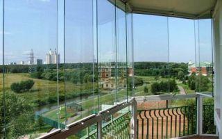 Особенности панорамного остекления балкона