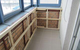 Как сделать обрешетку на балконе или лоджии под обшивку облицовочными материалами
