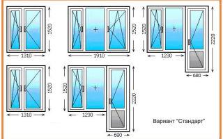 Выбираем пластиковый балконный блок для квартиры – профиль, конструкцию и размеры