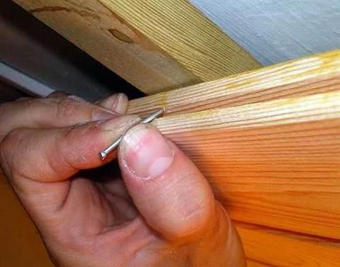 Как самому обшить балкон вагонкой – крепление гвоздями