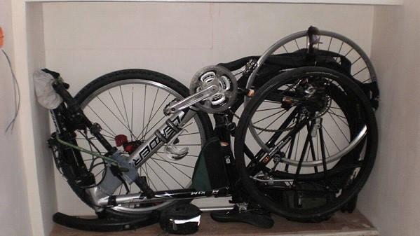 Компактно сложенные велосипеды