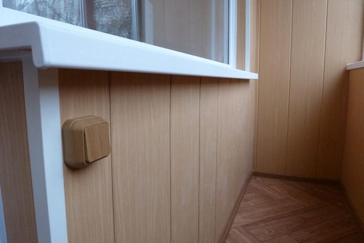 Обшивка балкона пластиковыми панелями: отделка лоджии пвх па.