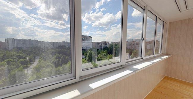 Алюминиевые раздвижные рамы для балкона