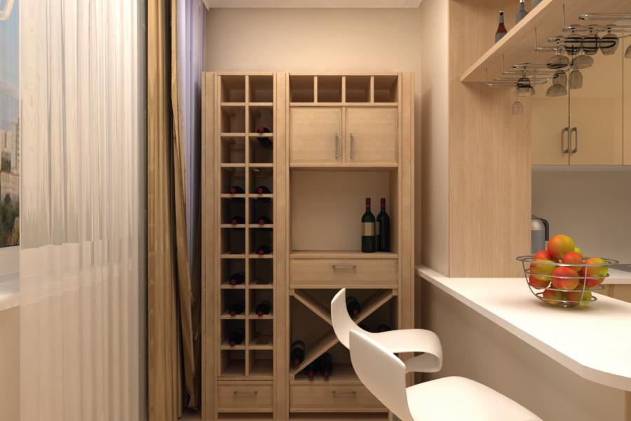 Дизайн кухни с балконом: советы как оформить балкон.