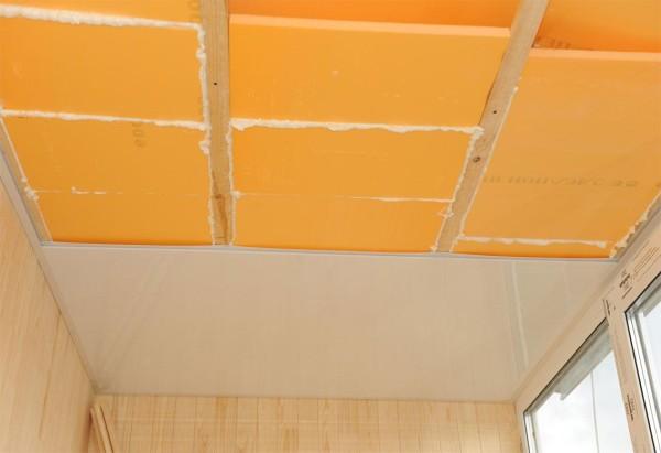Что нужно для утепления потолка