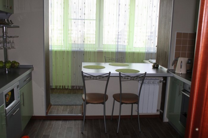 Сохранение перегородки между балконом и комнатой