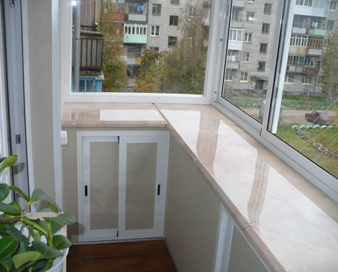 Алюминий для застекления балкона в хрущевке