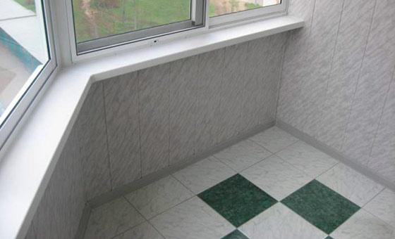 Керамическая плитка для отделки лоджии