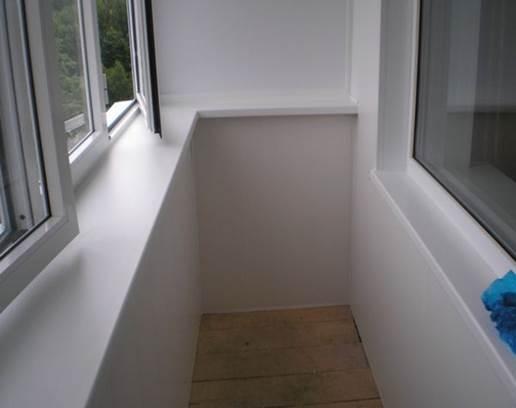 Применение сэндвич панелей для отделки балкона изнутри