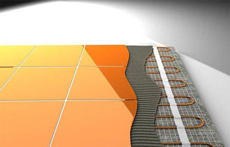 Создание теплого пола на балконе под плитку