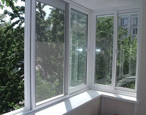 Вариант застекления балконов и лоджий