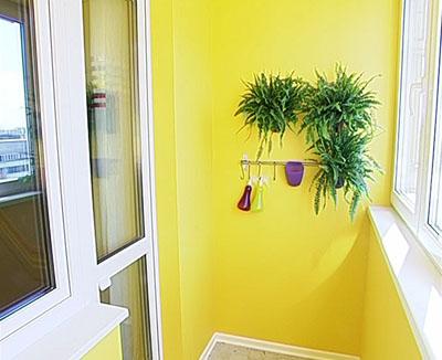 Краска для стен лоджии