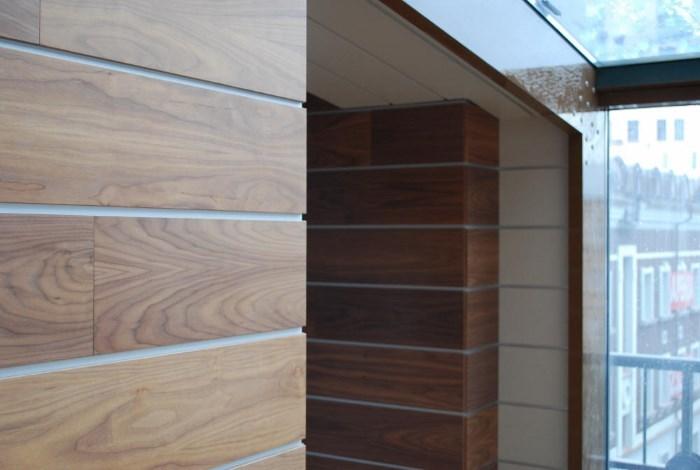 МДФ для стен на балконе