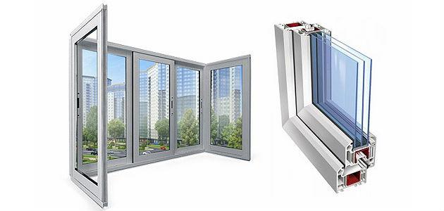 Окна из профиля ПВХ для установки на лоджии