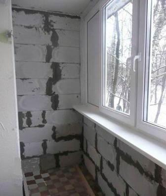 Остекление балкона с использованием ПВХ окон