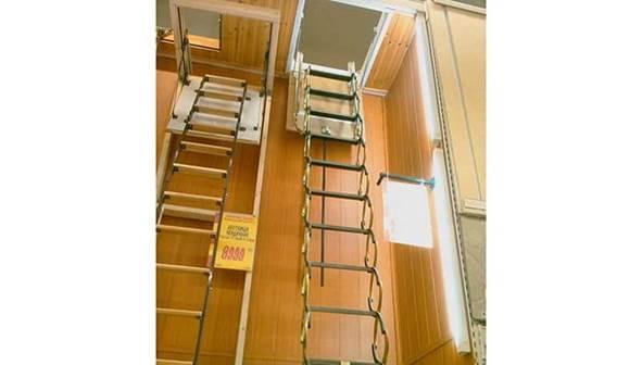 Складные модели балконных пожарных лестниц