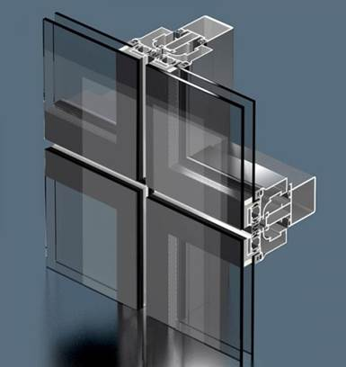 Структурный способ крепления остекления на балконе